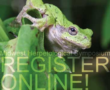 Register Online for the 2013 Midwest Herpetological Symposium